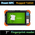 Cheapest 2D barcode reader rugged tablet with android6.0 2G+32G wifi bluetooth GPS front NFC rugged tablet pc rugged computer i
