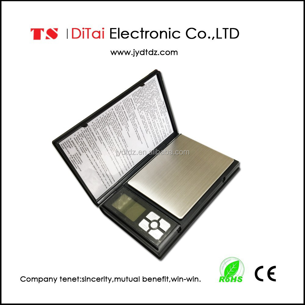 Top hot selling 500g*0.01g portable digital weight <strong>scale</strong> like notebook