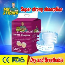 more convenient for using dry surface free adult baby diaper sample