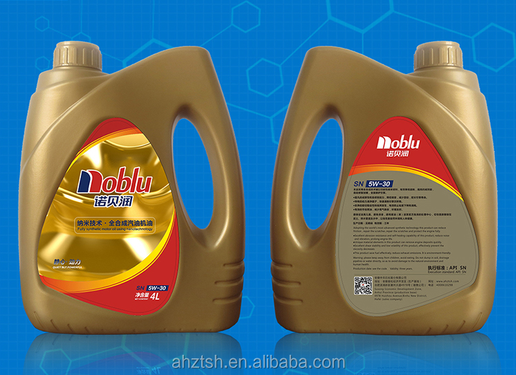 high quality synthetic oil lubricants oil motor 5w30