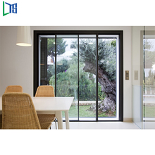 New model glass balcony sliding door malaysia with cheap price