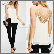 ladies fashion open hot sexy girl photo chiffon blouse women top