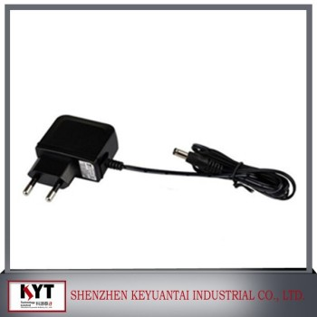 9.6v 1a ac power adapter, CCTV camera, LED dc power supply with CE FCC ROHS KC