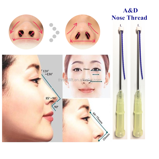 Korea A&D pdo thread cog blunt needle for nose
