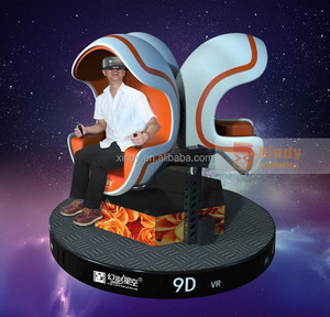 2015 Quick return and Low invest 9D egg VR dynamic rotation cinema for playing house on sale