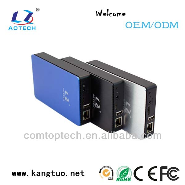 AOTECH NEW arrival nas 2.5 sata raid enclosure sata internal hdd enclosure