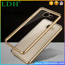 New Royal Luxury style Plating Gilded TPU Phone silicone soft Back Cover For Samsung Galaxy A5 2016 A5100 A5108 A510F Phone Case