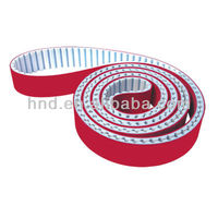 (AT20)+3T RED RUBBER type jointed Timing belt/ timing belt