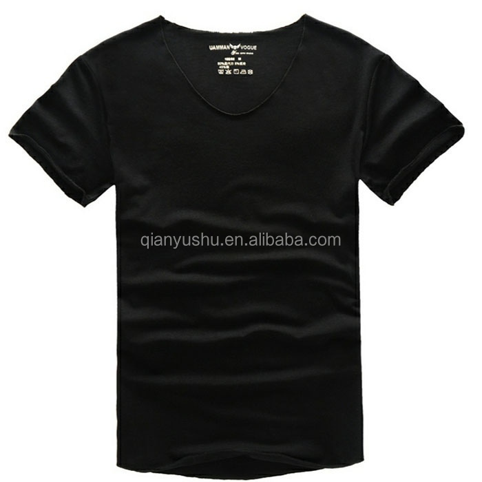 OEM custom wholesale egyptian cotton t-shirts blank