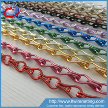 10'*10 Anodized aluminum chain link curtain with various colors
