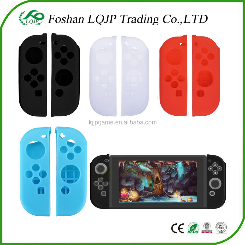 Silicone Rubber Skin Case Gel Cover Grip For Nintendo Switch Joy-Con Cover Silicon Case