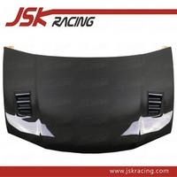 R STYLE CARBON FIBER HOOD BONNET FOR 2009-2013 HONDA CITY (JSK121704)