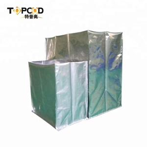 Five sides flat Open ESD Three-dimensional Packing Bag