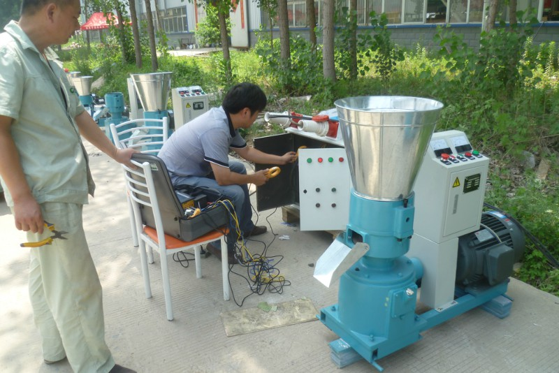 chicken feed granulator/ feed making machine/ feed extruder