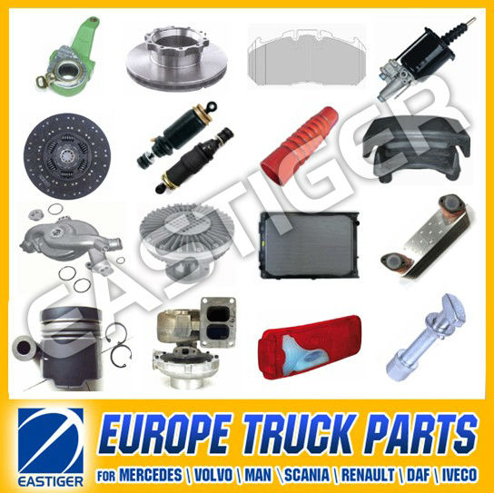 Over 1000 items MAN truck spare parts