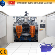 3.5L HDPE plastic water hand pot extrusion blow molding machine