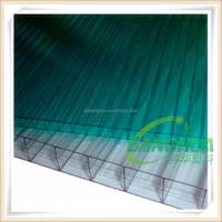 4mm6mm 8mm 10mm double wall polycarbonate hollow pc sheet