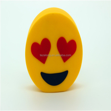 Hot sell Cartoon Emoji Portable USB External Battery Charger Power Bank For Android and IOS Mobile Phones for iPhone 6 6s