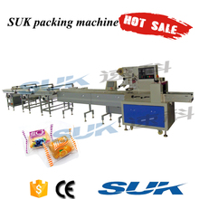 Automatic horizontal cookies/bread/biscuit chocolate packing machine