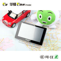 "Promotions!!! 5"" cheap waterproof GPS, M2531 800MHz 128MB+8GB+FM GPS navigator, AVin BT is optional"