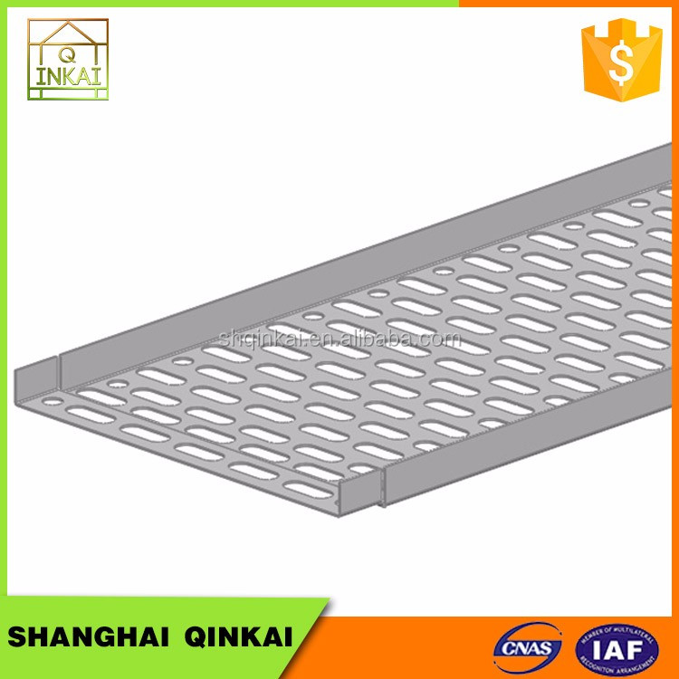 Hot Sale New Design Customized Electrical Plated Perforated Cable Tray