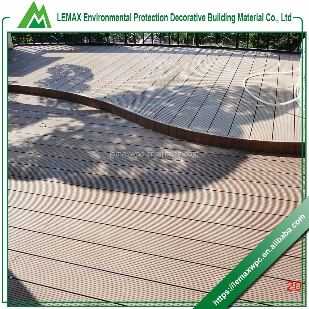 Professional production Quality Assurance china cheapest wood outdoor patio decking floor coverings