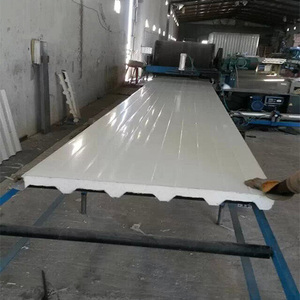 EPS corrugated sandwich roof panel