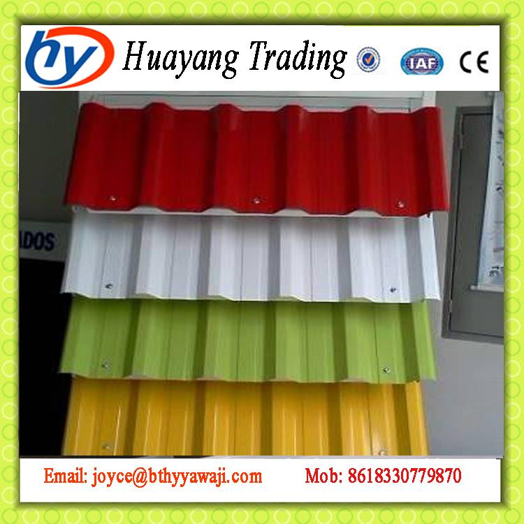 Fully Automatic cheap corrugated metal roofing steel sheet fence panels