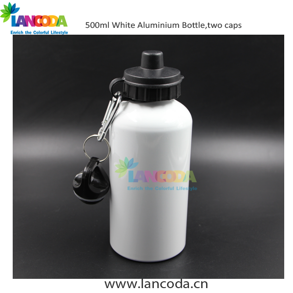500ml Sublimation squeeze water bottle