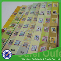 Famous film stamp book,kids stamp album of famous moives