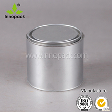 100ml/185ml/250ml/370ml metal tin can small metal coating can silver round empty aluminum cans
