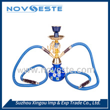 Factory direct sale luxury brass nargile hookah