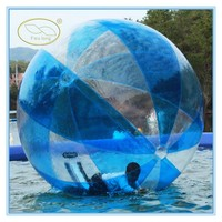 Fwulong new plastic water walking ball/bubble ball water/water walking roller