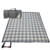 Multi-purpose Roll up Portable Tartan Fleece Nylon Waterproof Picnic Blanket Camping Mat with Carry Handle