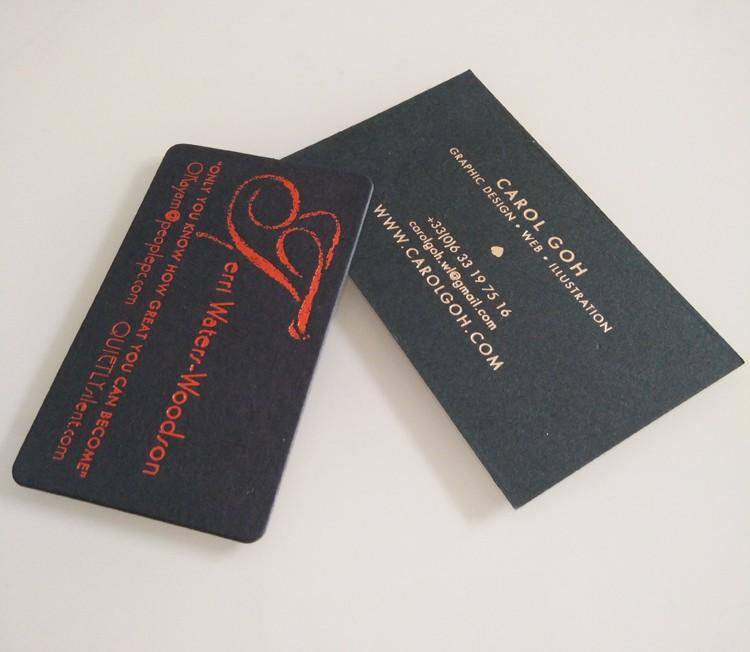 32pt matt black paper red gold foil stamped print metallic business 32pt matt black paper red gold foil stamped print metallic business cards colourmoves