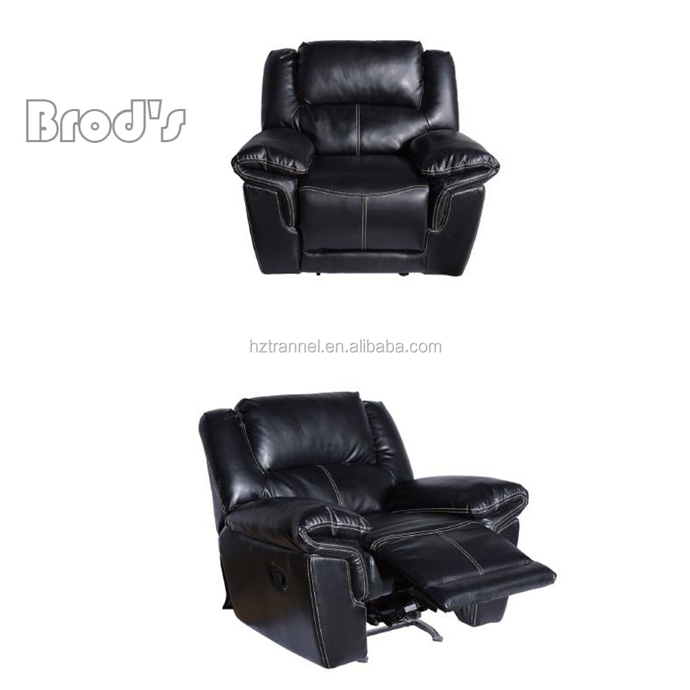 Modern Appearance and Home Furniture General synthetic leather recliner sofa