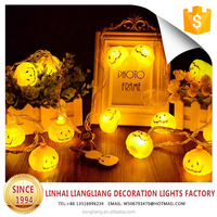 NEW design LED holiday pumpkin battery string light for Halloween