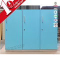 3 Door Swimming Pool Lockers Metal Locker Room Furniture
