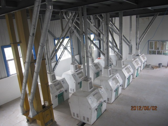 Wheat flour machine production line 10 tons per day buckwheat grinder machine