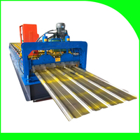 Color Steel Metal Roof/Wall T12 Roll Forming Machine On Sale