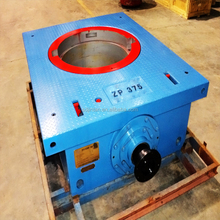 Oilfield API 7K ZP 375 Rotary Table with main bushing for drilling rig