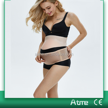 Breathable lumbar support belly band beige Maternity belt