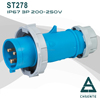 made in china 3p industrial plug socket ip67 16a 380v for hazardous area