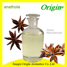 100% Natural Anethole Essential Oil Used in Flavour & Fragrance