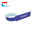 Disposable Customized Rfid Wristband Plastic For Festival Access