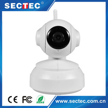 Sectec High Quality Plug and Play 720P Micro SD Card Two way audio 360 Degree Wireless Camera
