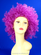 N6226 mei red color fashion short curly hair wigs for party/halloween wigs fans wig synthetic hair wigs for men
