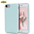 Shockproof Case Slim Liquid Silicone Case for iphone 7 or 8