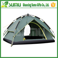 Strong waterproof family outdoor dome folding camping tent