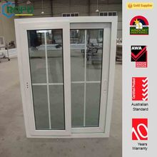 Lowest Maintenance uPVC/PVC Double Glazed Horizontal Sliding Glass Window